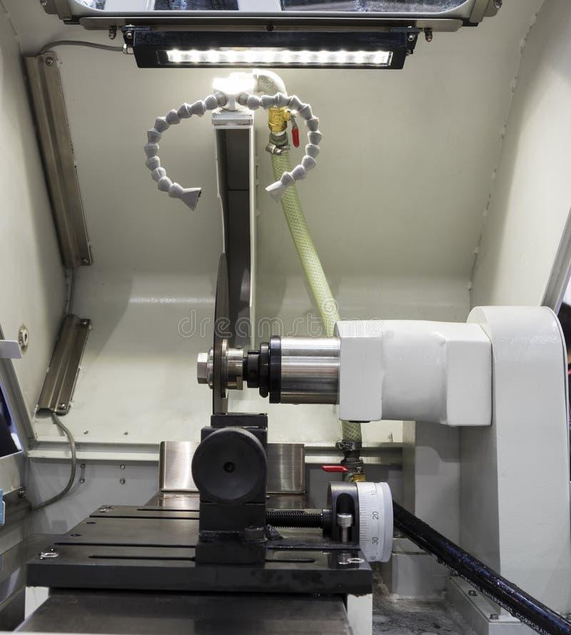 Micro- vezelsnijmachine stock foto