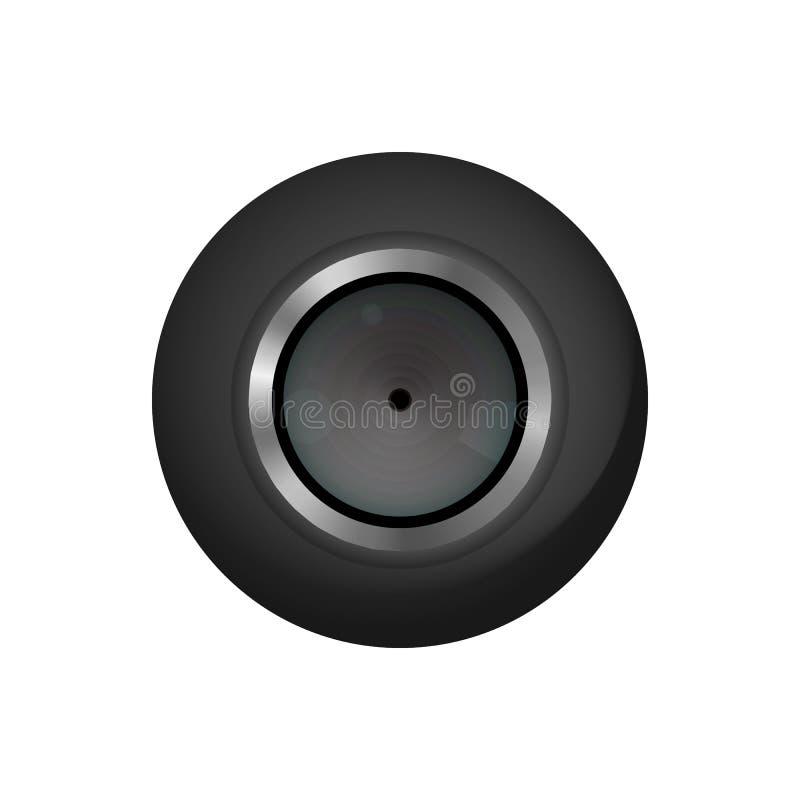 Micro videocamera portatile illustrazione di stock