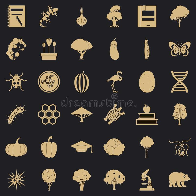 Microbial icons set, simple style. Microbial icons set. Simple set of 36 microbial vector icons for web for any design vector illustration