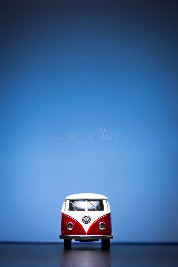 Microbus Фольксвагена стоковое изображение rf