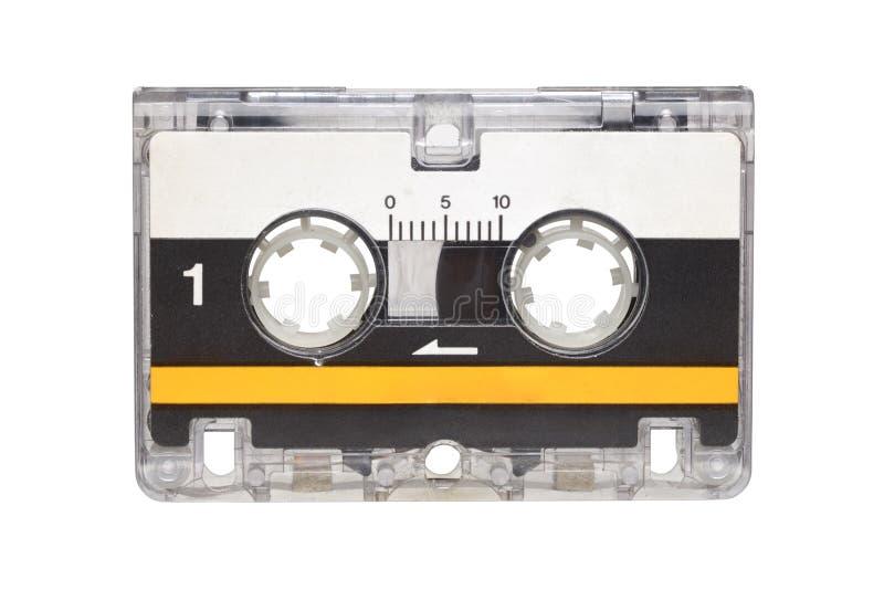 Microcassette d'isolement sur le fond blanc image libre de droits