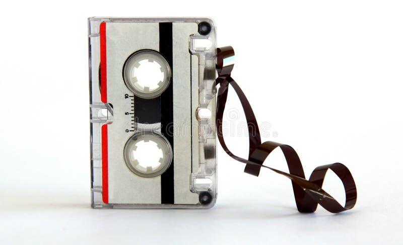 Microcassette für Sprachaufzeichnungsanlage lizenzfreie stockbilder