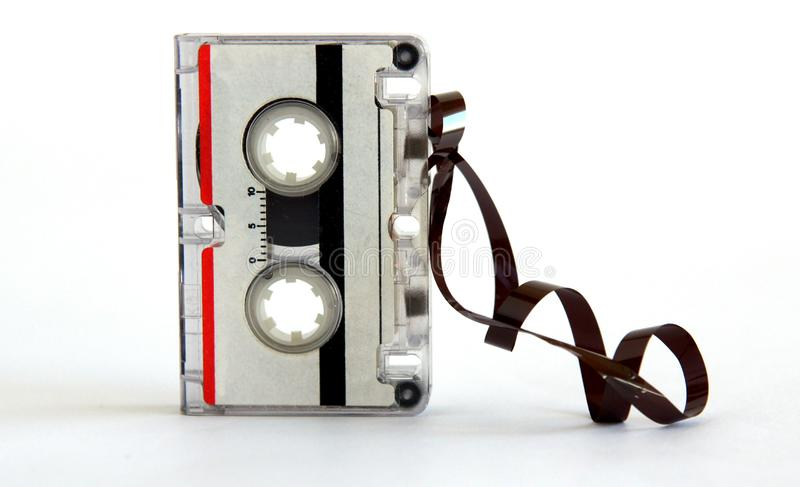 Microcassette for voice recorder royalty free stock images