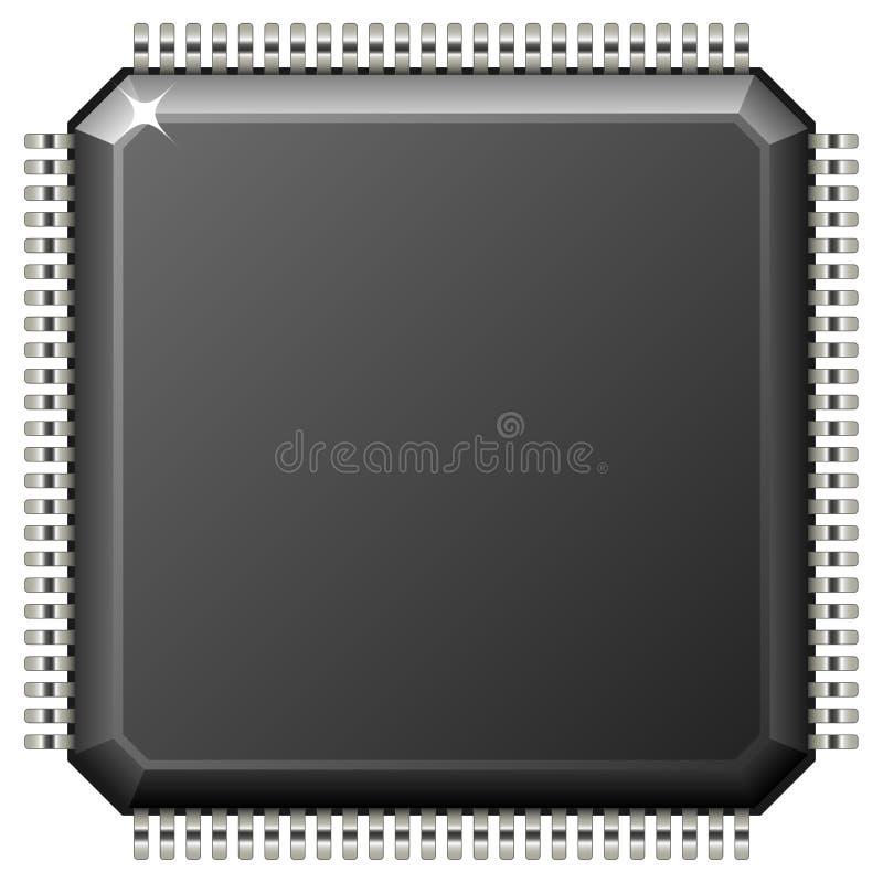 Microchip ilustración del vector