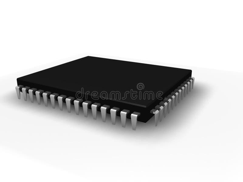 Microchip fotos de archivo libres de regalías