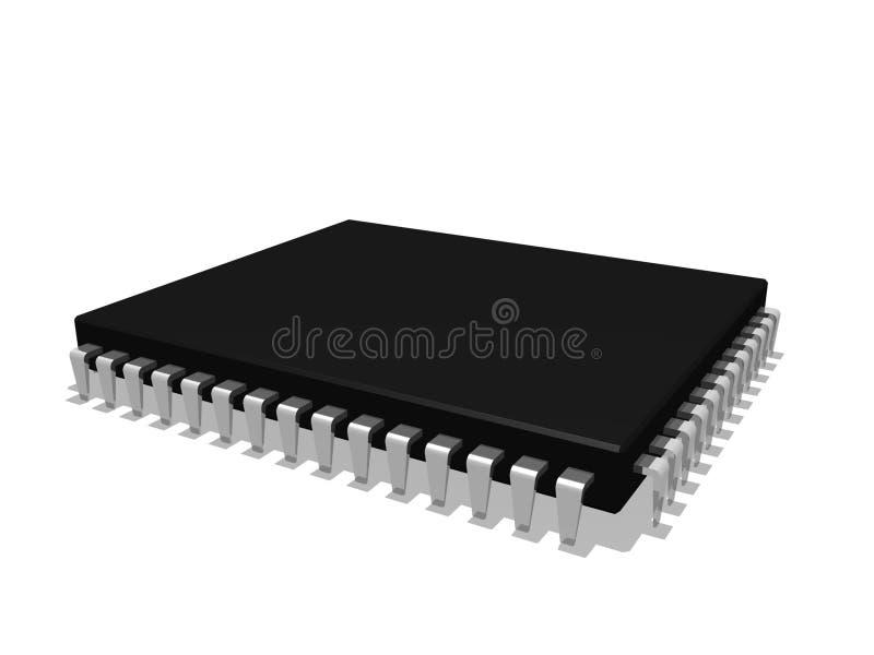 Microchip vector illustratie