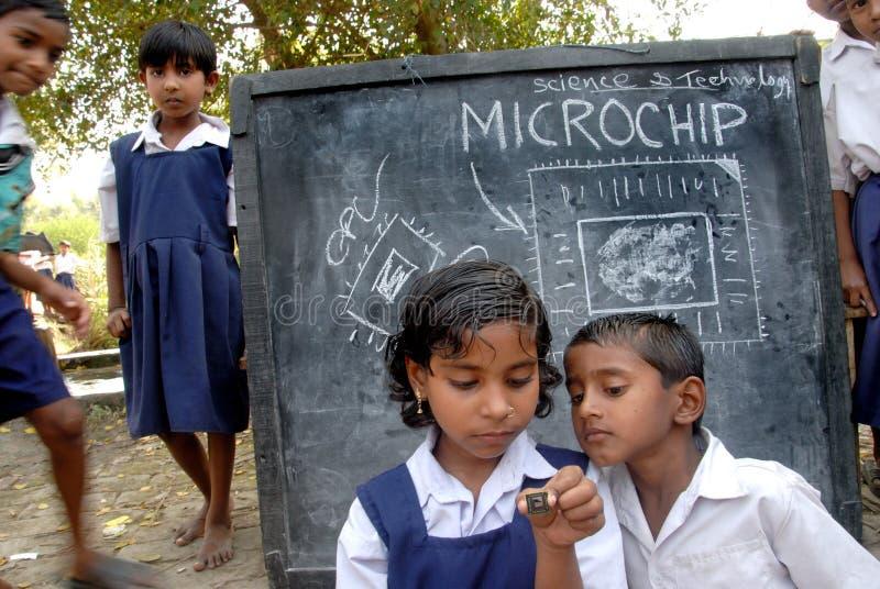 Microchip imagen de archivo libre de regalías