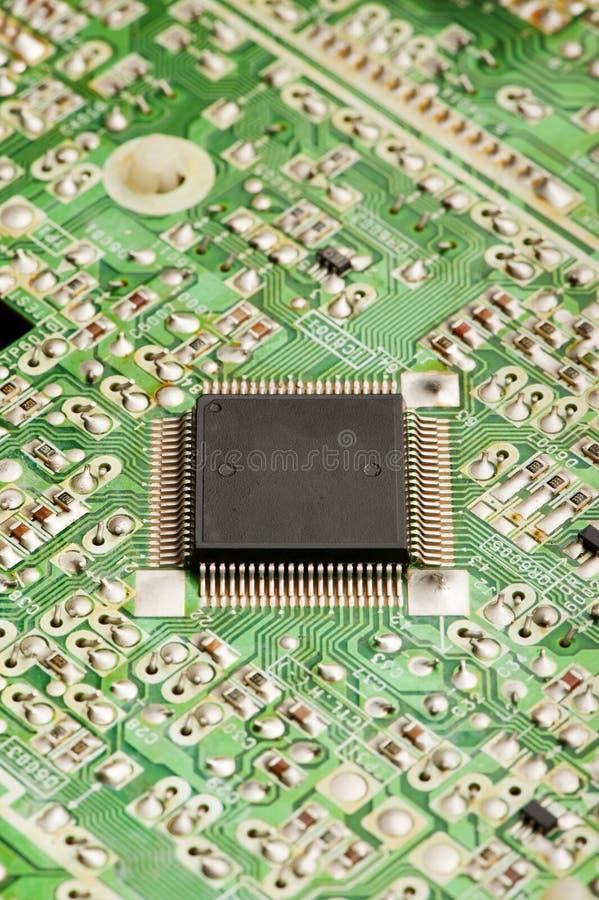 Microchip imagem de stock royalty free