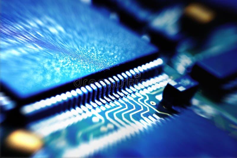 Microchip Foto de archivo