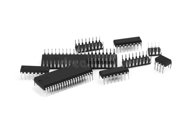 microchip imagem de stock