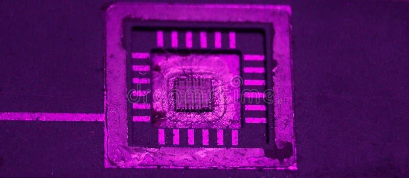 Microchip Fotografie Stock Libere da Diritti