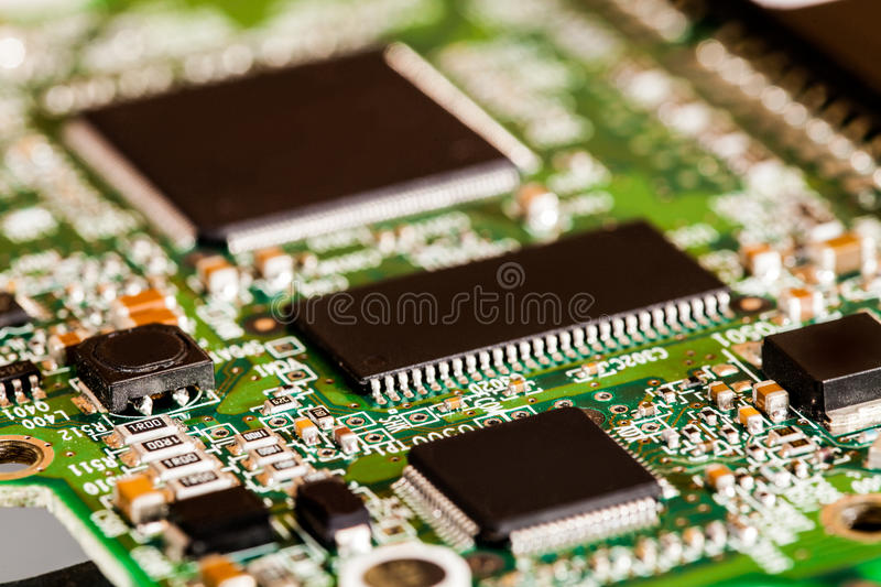Download Microchips Details stock photo. Image of closeup, integrated - 38703274