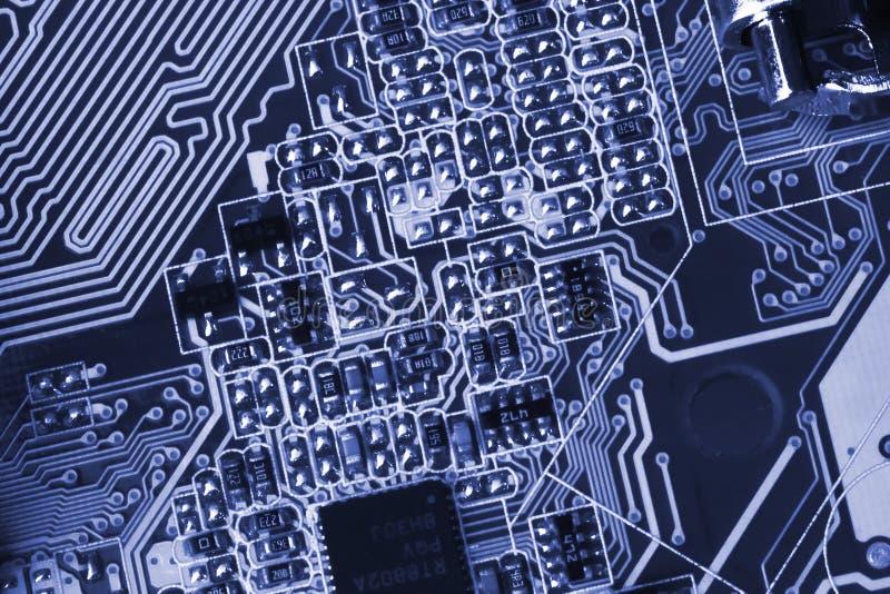 Microcircuit stock photo