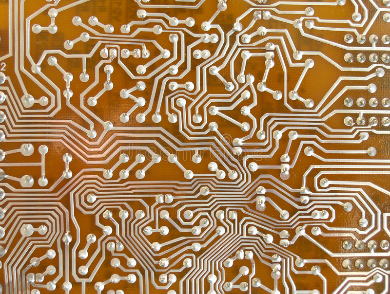 Microcircuit background stock photography