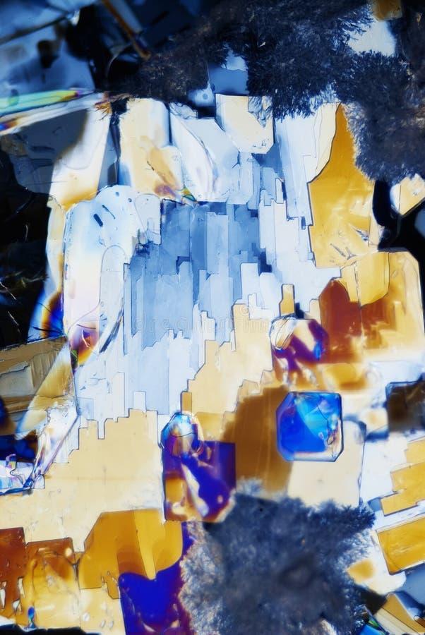 Microcrystals foto de archivo libre de regalías