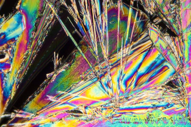 Microcrystals del carbonato sódico foto de archivo