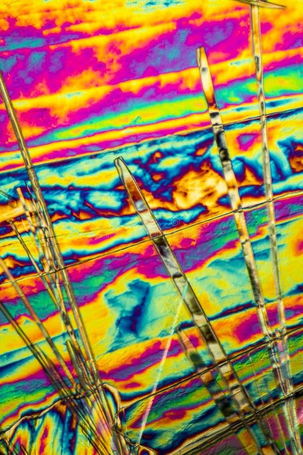 Microcrystals del carbonato sódico foto de archivo libre de regalías
