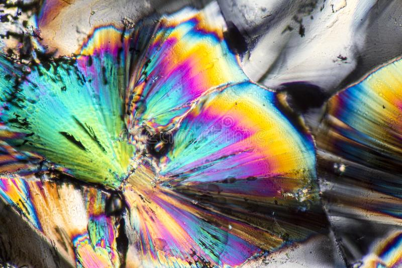 Microcrystals del cinc imagen de archivo libre de regalías
