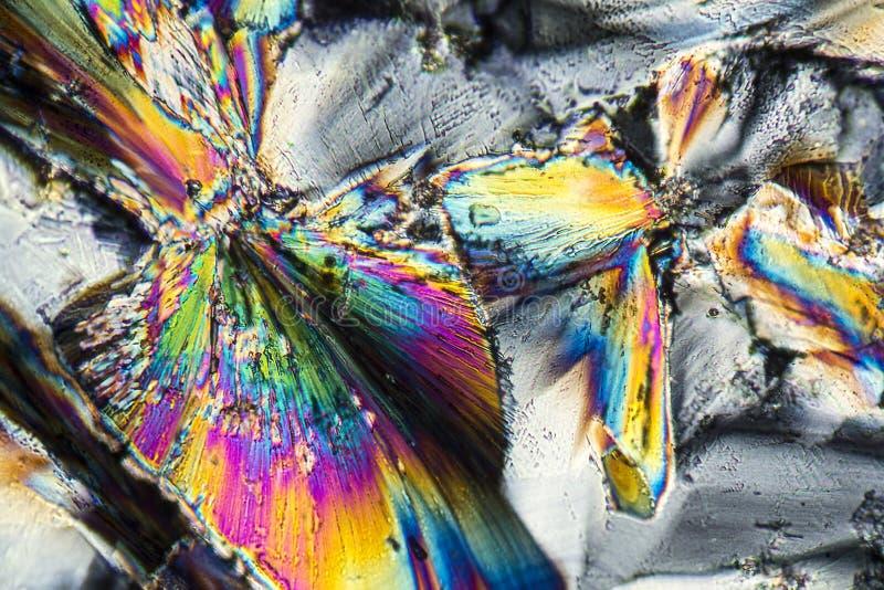 Microcrystals del cinc imágenes de archivo libres de regalías