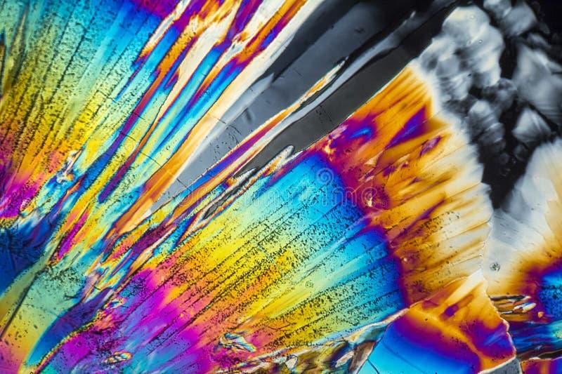 Microcrystals trisódicos del citrato fotos de archivo libres de regalías