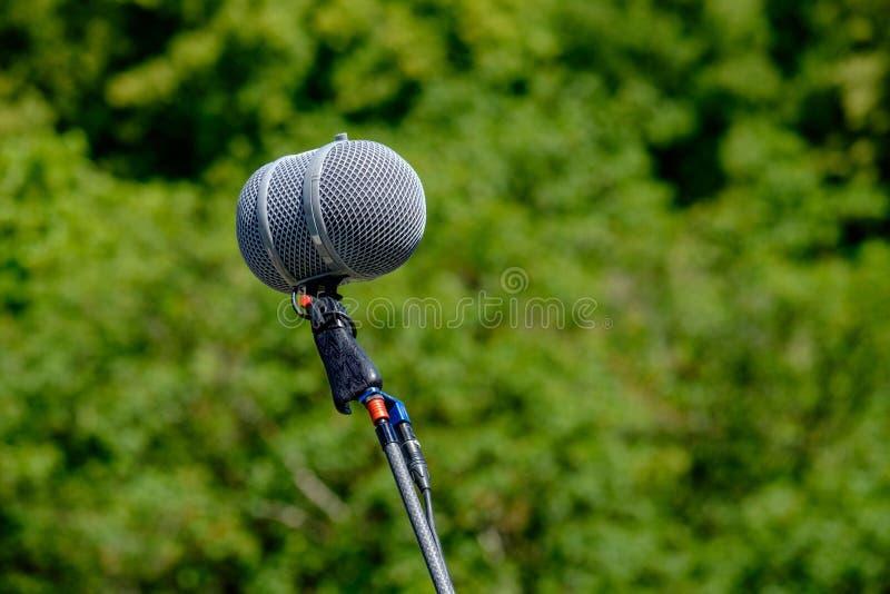 Microfon die Stadt Bern lizenzfreie stockbilder