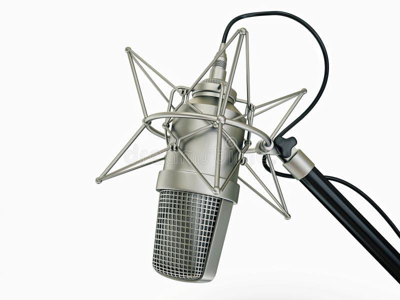 Microfone ilustração do vetor