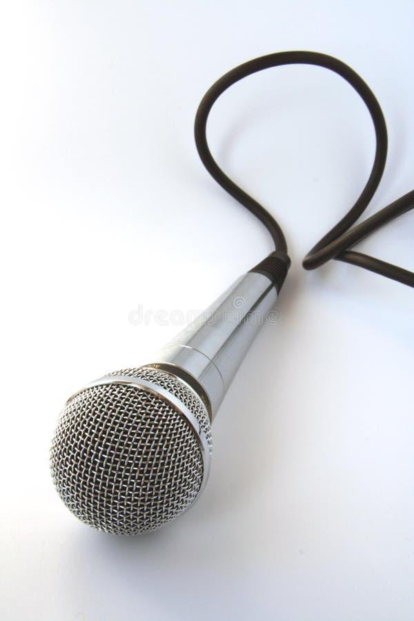 Microfone. imagens de stock