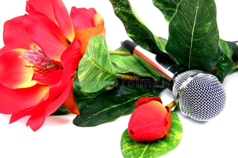 Microfone. imagem de stock