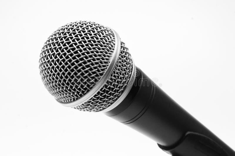 Microfone fotografia de stock royalty free