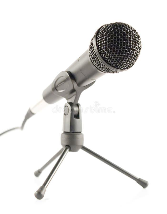 Microfone de pé fotos de stock royalty free