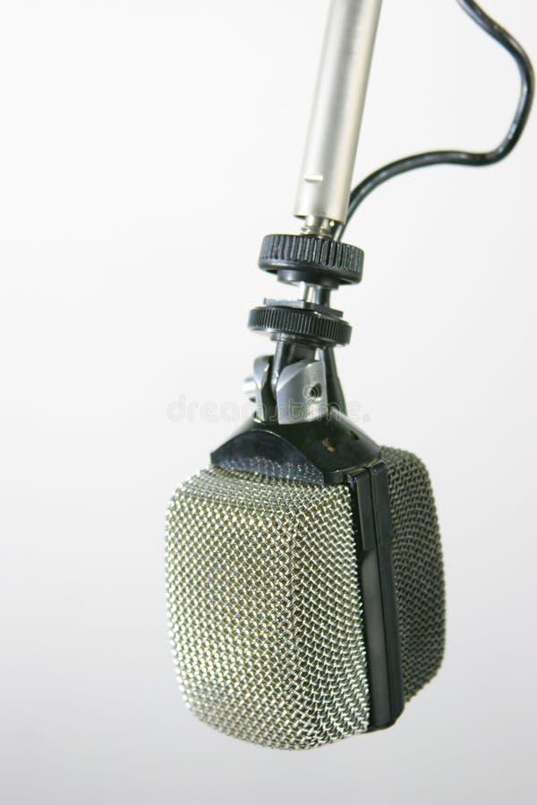 Microfone de rádio retro imagens de stock royalty free