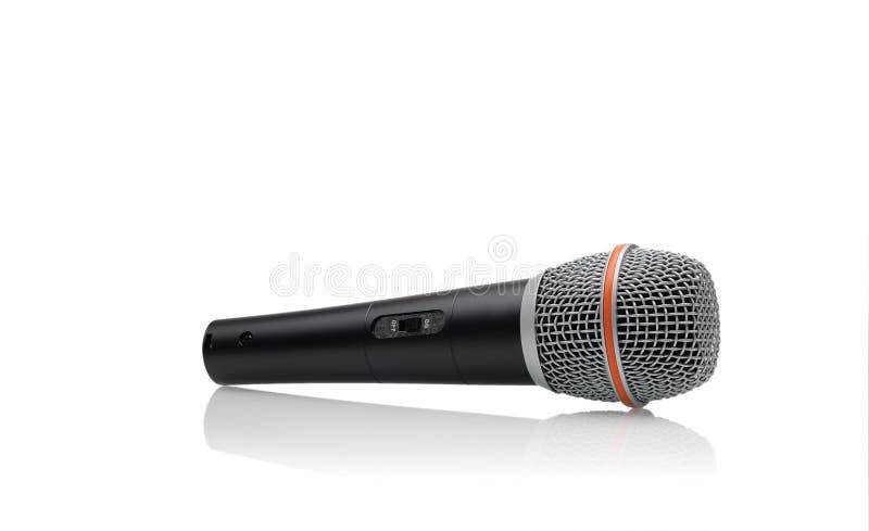Microfone dinâmico imagem de stock