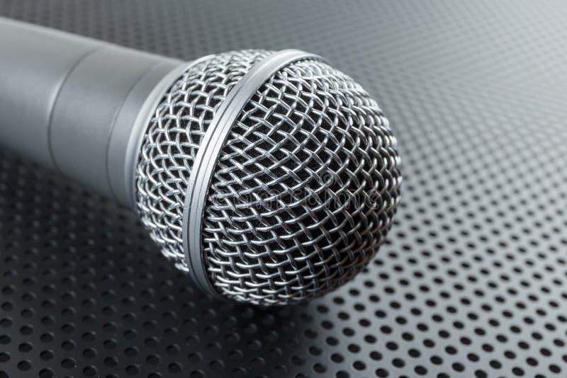 Microfone dinâmico clássico foto de stock royalty free