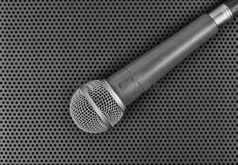 Microfone dinâmico clássico imagem de stock