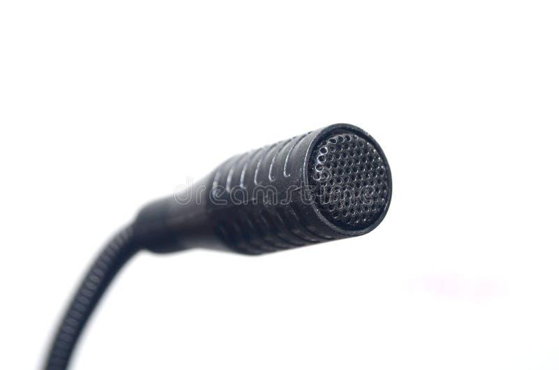 Microfone do Desktop fotografia de stock