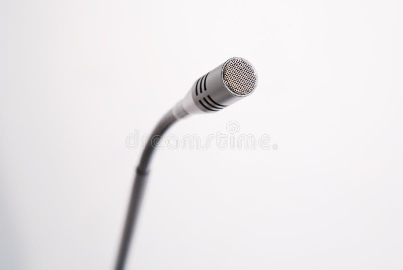 Microfone do Talkback foto de stock