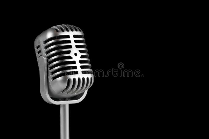 Microfone retro & x28; Microfone dinâmico & x29; imagens de stock royalty free