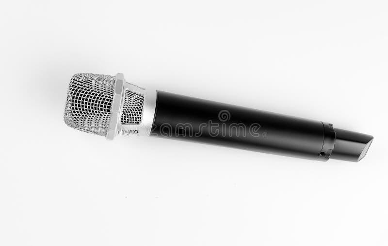 Microfone sem fio moderno fotografia de stock