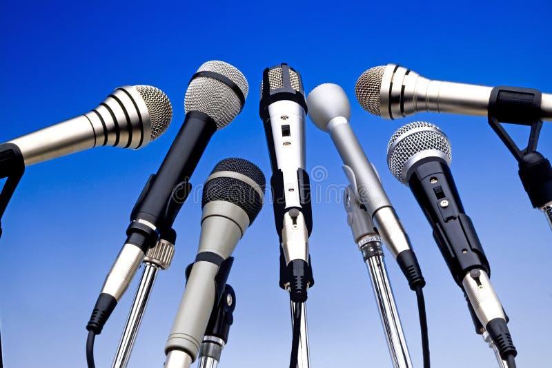 Microfoni fotografie stock libere da diritti