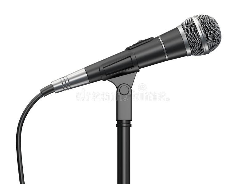 Microfono illustrazione di stock