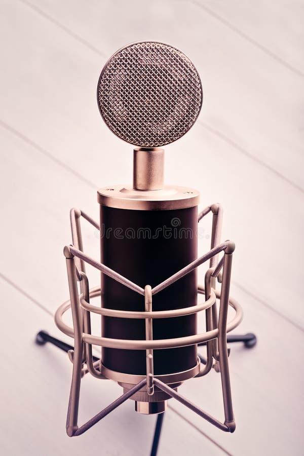 Microfono 1 immagine stock