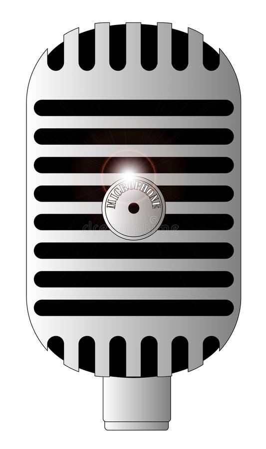 Microfono classico royalty illustrazione gratis