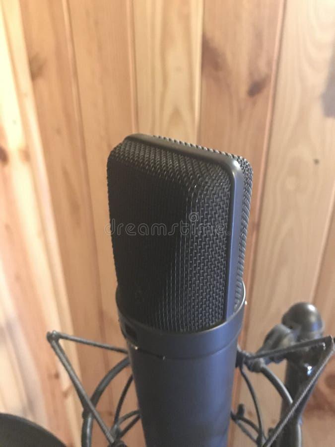 Microfono De Estudio obraz stock