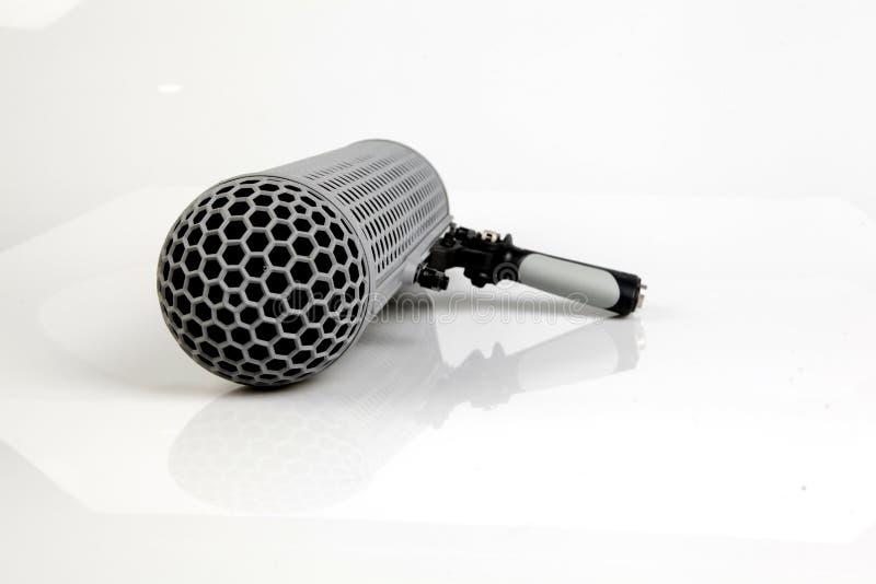 Microfono di asta fotografia stock libera da diritti
