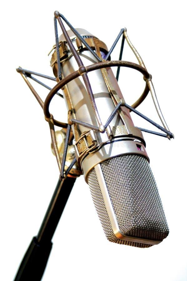 Microfono di asta fotografie stock libere da diritti