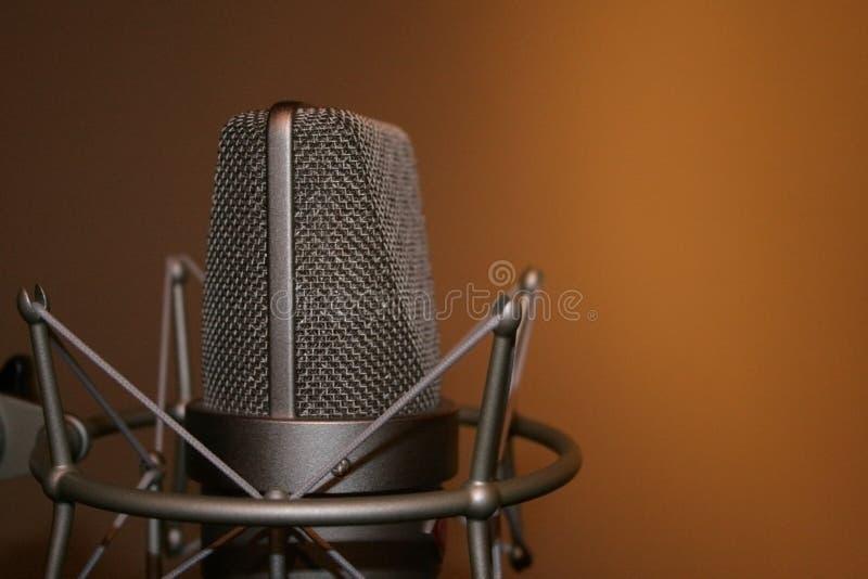 Microfoon stock fotografie
