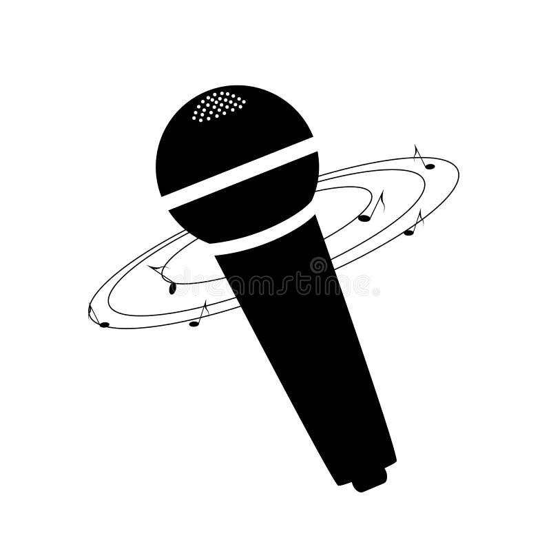 Microfoon, muziek royalty-vrije stock afbeeldingen