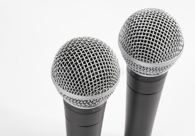 Microfoons stock foto