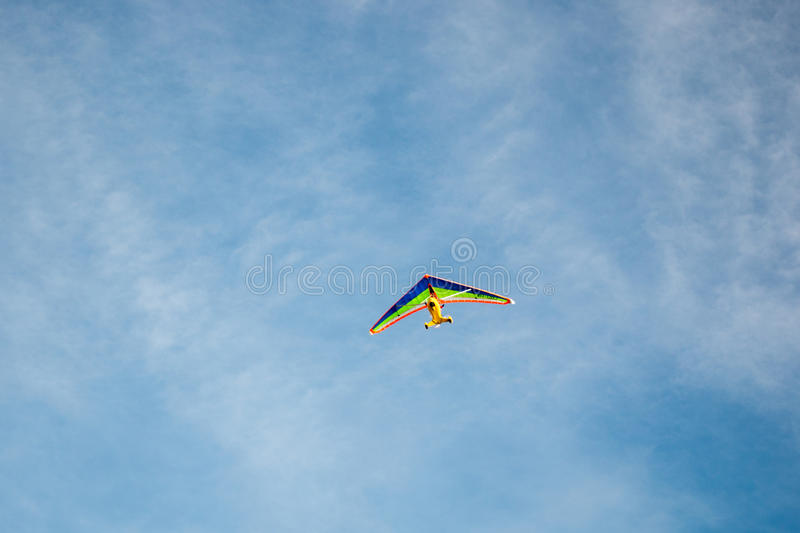 Microlight-Fliegen stockbilder
