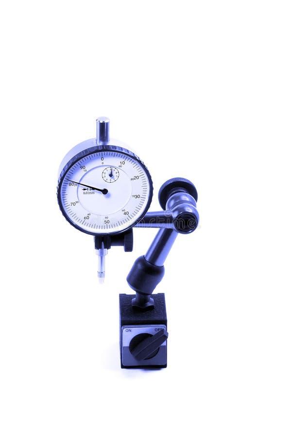 Micrometer stock afbeelding